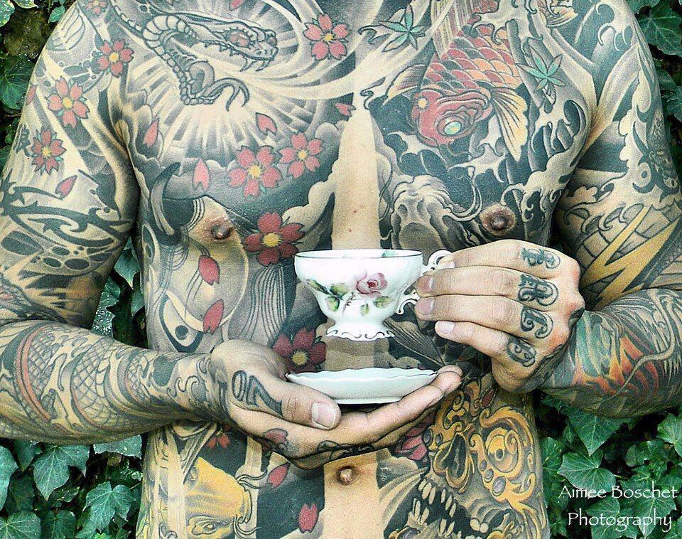 tea cup tatt