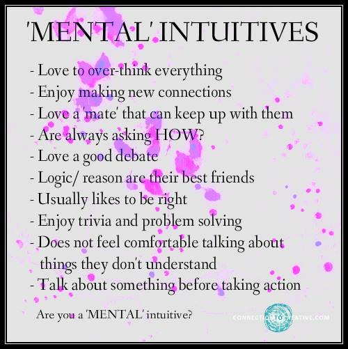 mental intutive