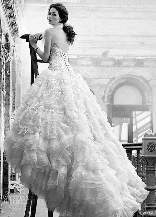 Girl Black And White Wedding Dress