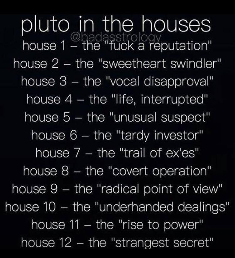 pluto-in-the-houses