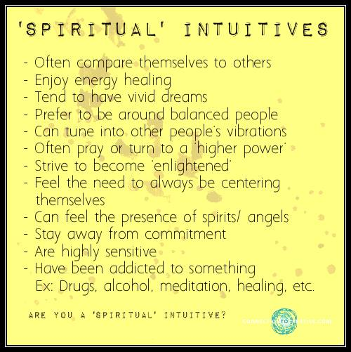 spirutual intuitive